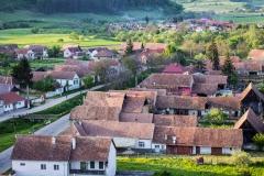 Dorflandschaft - Die Dächer von Hundertbücheln